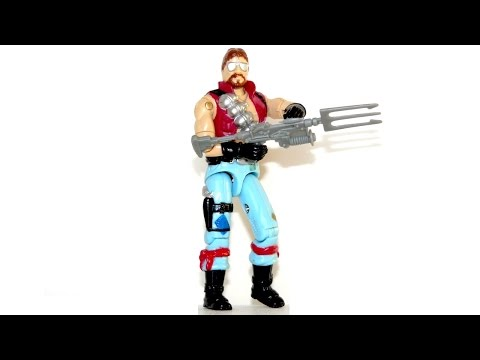 1986 Monkeywrench (Dreadnok) G.I. Joe review
