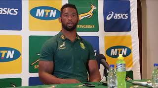 @Springboks captain Siya Kolisi was asked if he was a political appointment, this is his answer