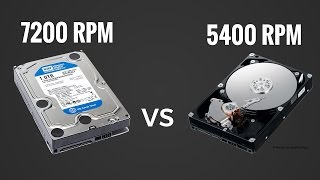 HDD : 7200rpm vs 5400rpm | HD