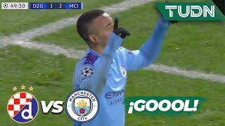 ¡Le dan la vuelta! Gol de Jesús | Dinamo 1 - 2 Man. City | Champions League - J 6 - Grupo C | TUDN