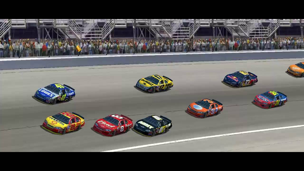 2007 NASCAR Season Race 2 Atlanta Motor Speedway