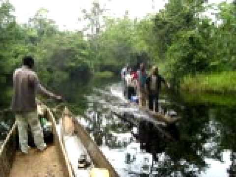 Congo River Transport Africa Delivers 2010.avi www.africadelivers.co.uk