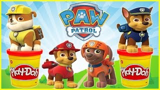 paw patrol stop motion play doh spongebob mickey mouse minions bubble guppies surprise eggs