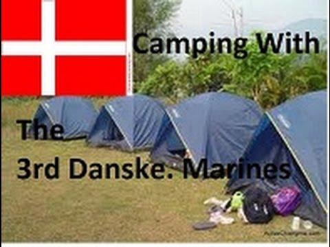 Camping Trip - 3rd Danske Marines