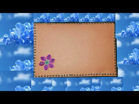 DIY Gift cards    Card design with quilling flowers    Quick and easy gift card