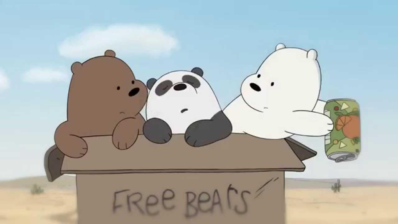 Wallpaper Cartoon Cute Bear We Bare Bears Grizz Amp Panda S Friendship Song With