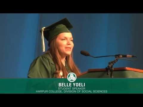 "Binghamton University Commencement Spring  - Belle Yoeli ""True &39;WOW&39;"""