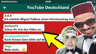 A.B.K will Miguel Pablo HEIRATEN!? 😳😂 | YouTuber in einer WhatsApp Gruppe