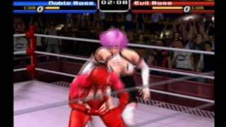 Rumble Roses - Noble Rose VS Evil Rose(Normal Comp Original)