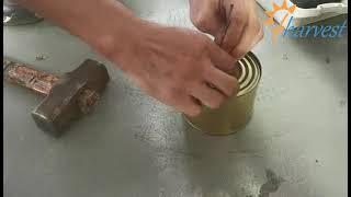 반자동 진공 질소 씰링 기계, 주석 캔 진공 질소 씰링…