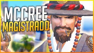 OVERWATCH: ESTRENAMOS SKIN Y PLAY OF THE GAME CON MCCREE! | Makina