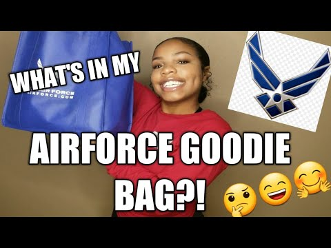 What's In My Airforce Goodie Bag?! + Airforce Update!!!