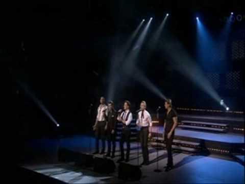 Boyzone singing Better on Britannia High