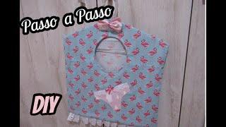 Faça Porta Lingerie Flamingos – Super Fácil