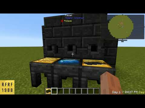 Tinkers Construct How To: Make Ingot Cast