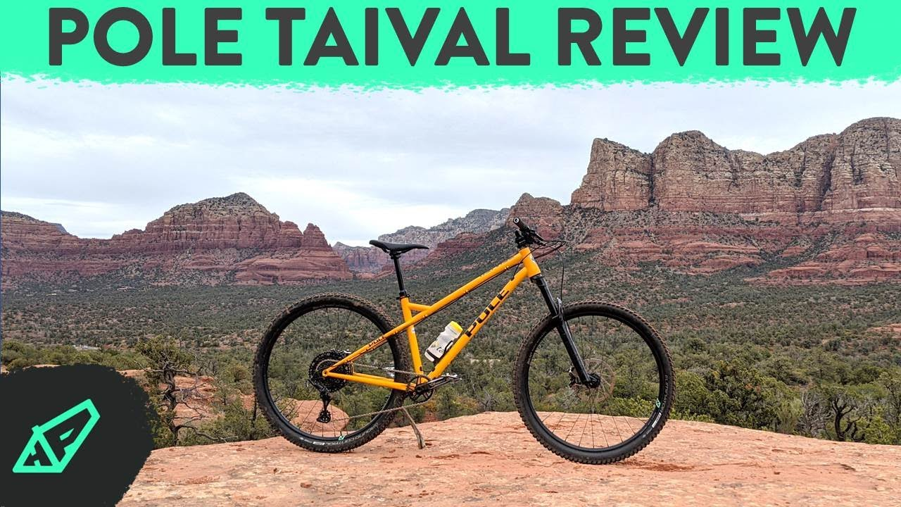 Yup, It's Good... Really Good - Pole Taival Review - A Modern, Aggressive Steel Hardtail