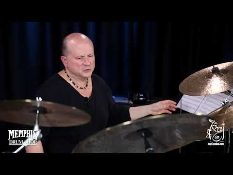 "Istanbul Agop 22"" Turk Ride Cymbal played by Michael Waldrop 3160g (TR22-1103018Q)"