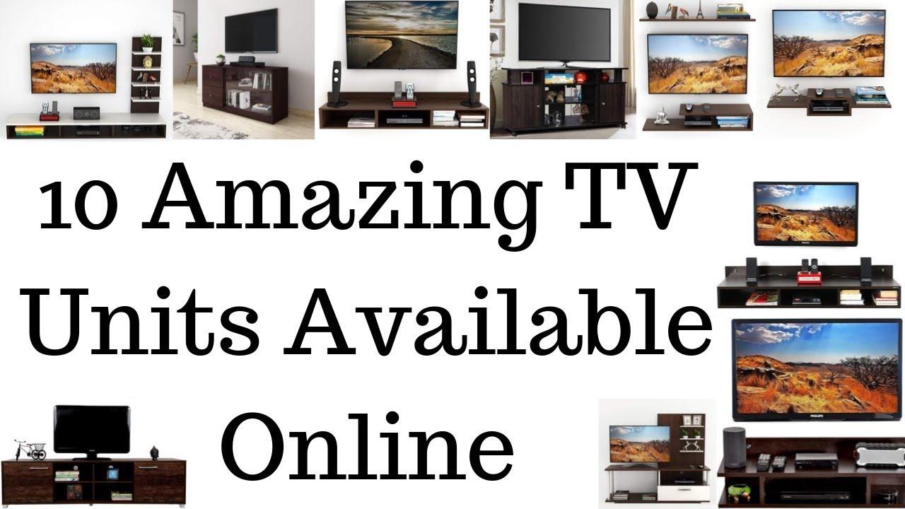 10 Amazing Tv Units Available Online1 Youtube