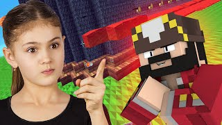 One of UnstoppableLuck's most viewed videos: Super Bossy Girl Trolled on Minecraft (Minecraft Trolling & Griefing)