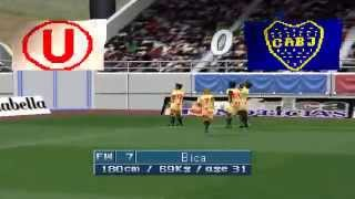 Winning Eleven 3 Peruano PS1 con Logan