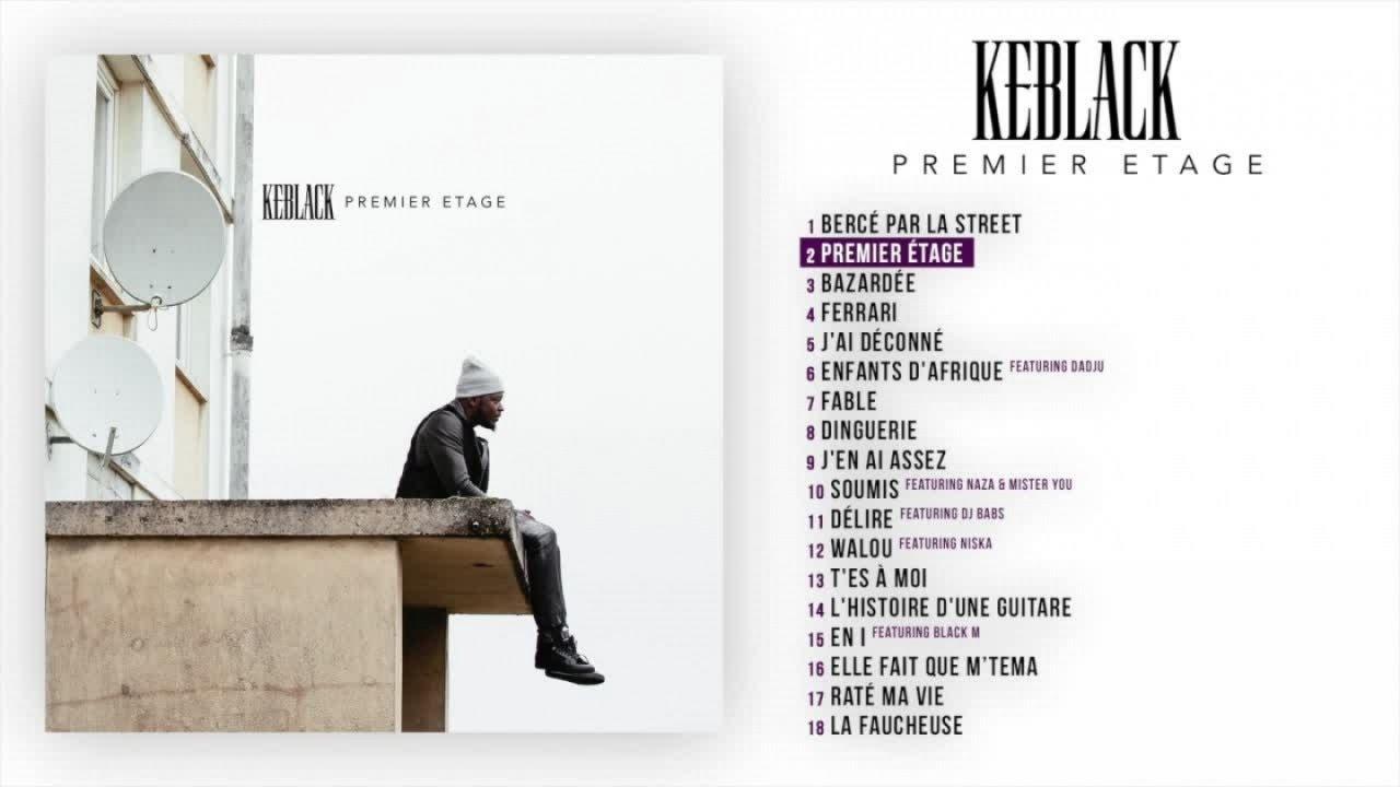 keblack premier étage album