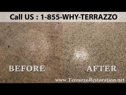 How do You Clean Terrazzo Floors Company in Palm Beach