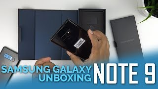 Samsung Galaxy Note 9 (512GB/8GB RAM) Unboxing & First Impressions
