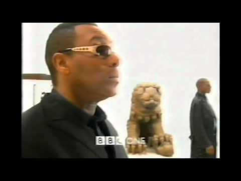 Christmas on BBC One 2000 Lenny Henry In Pieces trailer plus ident