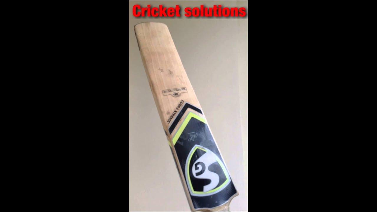 How To Season A Cricket Bat Properly