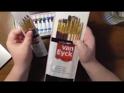 Action Aquarellfarben Haul Test Und Review Deutsch Youtube