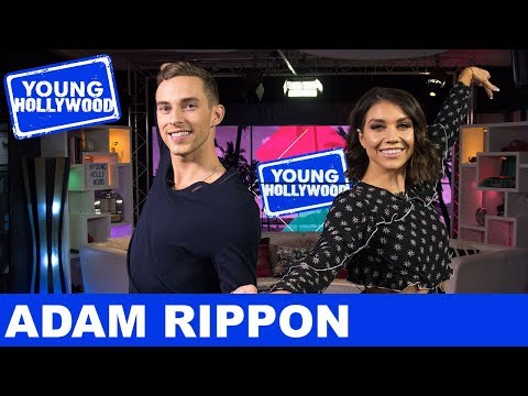 Dancing With The Stars' Adam Rippon & Jenna Johnson Act Out Olympic Sports!