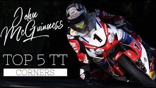 John McGuinness's Top 5 crucial Isle of Man TT corners   BikeSocial