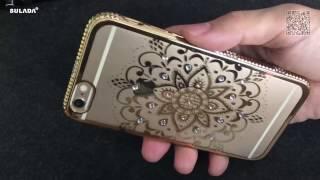 SULADA Mobile Phone Rhinestone Case For iPhone 6 6S TPU Cases Cover