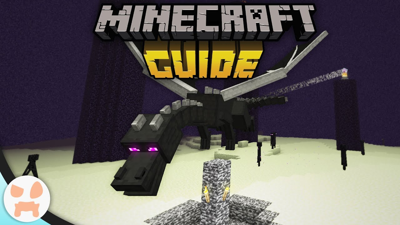 Download How To Beat The ENDER DRAGON EASY!   The Minecraft Guide - Tutorial Lets Play (Ep. 20)