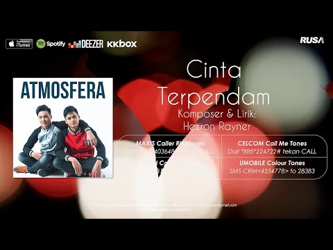 Atmosfera - Cinta Terpendam [Official Lyrics Video]