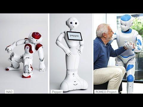 3 Cool Humanoid Robots From Softbank Robotics ||  Romeo, Nao & Pepper Robot.
