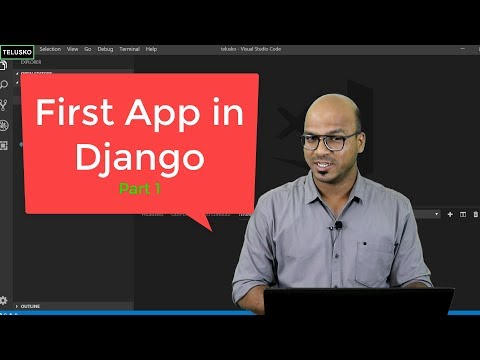 #3 Django tutorials | First App in Django - part 1