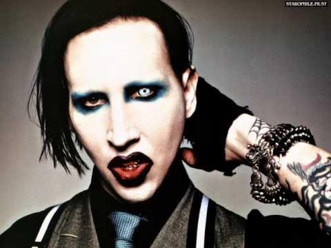 Marilyn Manson Burning Flag