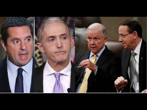 REPORT! DOJ IS STILL WITHHOLDING EVIDENCE FROM GOWDY AND NUNES!