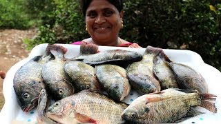 Traditional Village fish fry || Full fish Fry || Traditional Fish Fry || Country foods