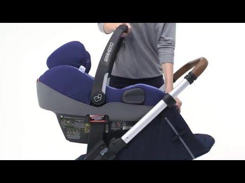Mutsy NEXO: possible seats (Maxi-Cosi Prezi) - YouTube