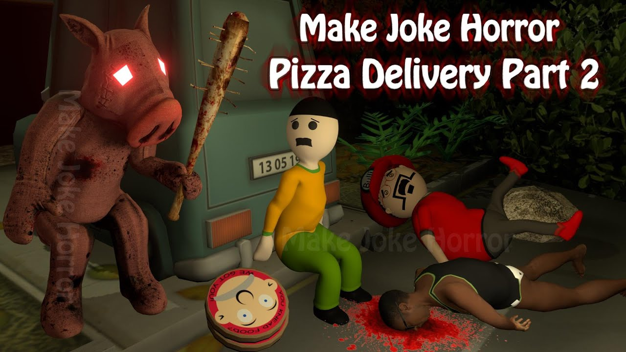 Pizza delivery Or Khooni Pig Part 2 | Pizza delivery Horror Story Part 2 |  Food Delivery | Horror