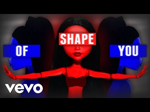 Ed Sheeran - Shape Of You (MONSTER HIGH STOP MOTION ) DOLL PARODY