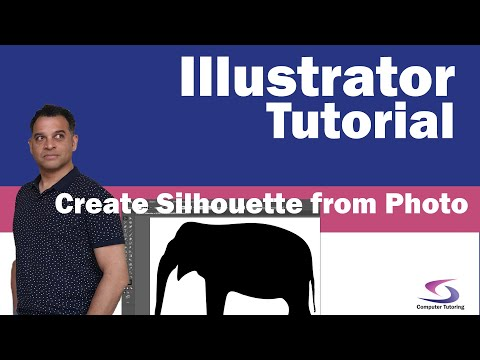 Illustrator Tutorial: How to create a silhouette from a selection made in Photoshop thumbnail