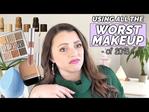 THE WORST MAKEUP OF THE YEAR
