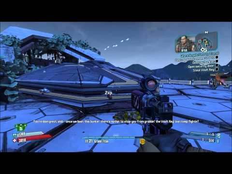 Borderlands 2: The Bunker God Mode Cheat Test