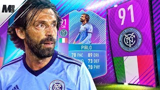 FIFA 18 END OF AN ERA PIRLO REVIEW | 91 PREMIUM SBC PIRLO PLAYER REVIEW | FIFA 18 ULTIMATE TEAM