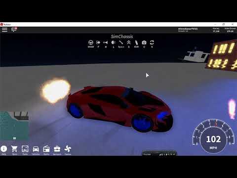 Roblox Vihicle Simulator mclaren 650s AthensGamerTV by Athens Thanakrit