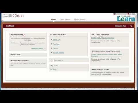 Uploading Video to Blackboard Learn