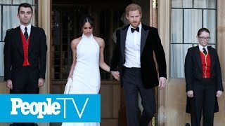 Prince Harry & Meghan Markle Depart For Frogmore House Evening Reception | PeopleTV
